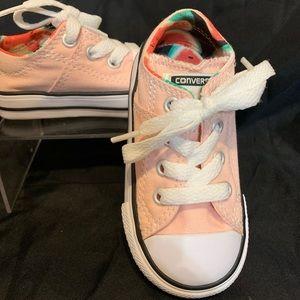 Pink Baby Converse